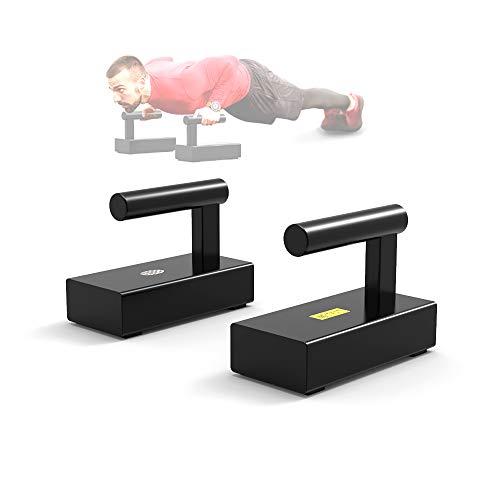 73HA73 Soporte de Push-up Barras de Push-up para Fitness Soportes de Acero Equipo de Ejercicio y Entrenamiento en Casa con un Peso de Más de 200 Kg,A