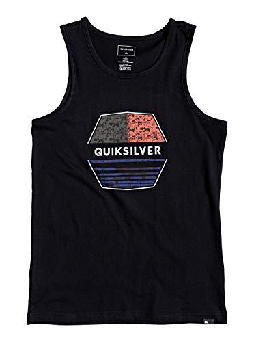 Quiksilver - Camiseta sin Mangas - Niños 8-16 - Negro