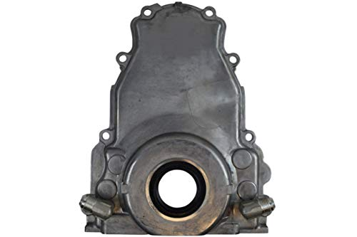 ICT Billet LS Gen 3 Turbo Oil Drain Return - Front Timing Chain Cover -10AN 551589