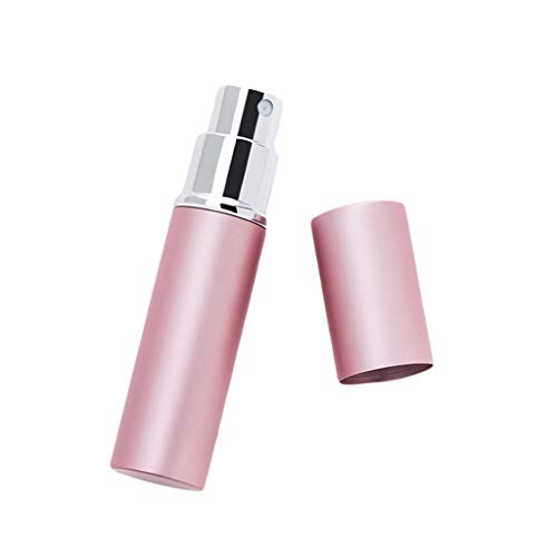 JKL dispensador de jabón Botellas de perfume de viaje recargables de 5...