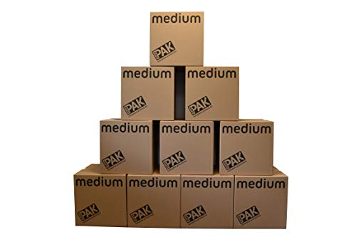 StorePAK Medium Storage Boxes (Pack of 10)