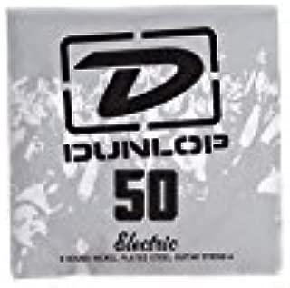 Jim Dunlop DEN50 50 Gauge Nickel Plated Steel Electric Guitar E String, Medium/Heavy (Single)