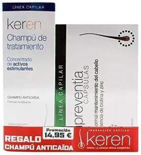 Pack Keren Preventia 30 Capsulas+Champu 200ml