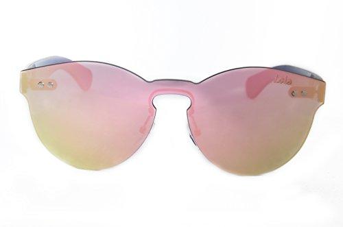 Lois - Vanny P Pink, Gafas de Sol Moda Unisex Tutto Lens,...