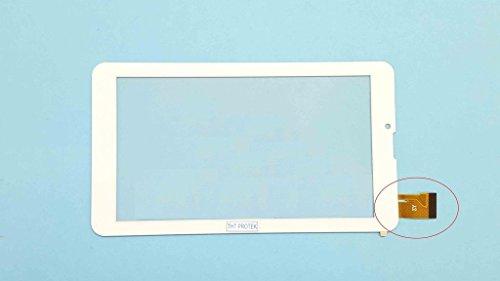 Weiss Touchscreen Digitizer glas version 2 komp. Mit Archos 70b Copper