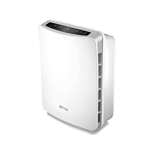 IDEAL Luftreiniger Air Purifier AP30 mit HEPA Filter, Aktivkohlefilter und Ionisator (für Allergiker und Raucher für Räume bis zu 40m²) gegen Feinstaub, Pollen, Allergene, Gerüche und Bakterien