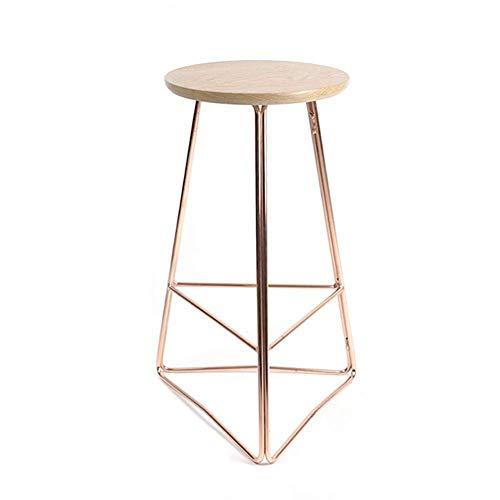 BDWY barkruk, driehoekig, zitting van massief hout, hoge stoel, restaurant, ontbijt, stoel
