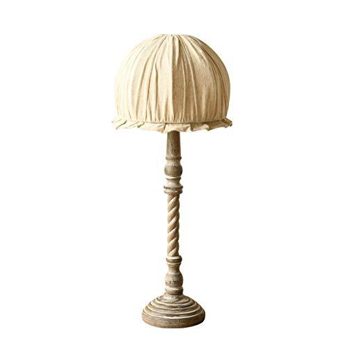 Lámparas de escritorio Mesita de noche y lámpara de escritorio de la base tradicional de madera elegante, tono neutro y suave, la luz ambiental for el dormitorio mesita de noche, Sala, Oficina Lámpara