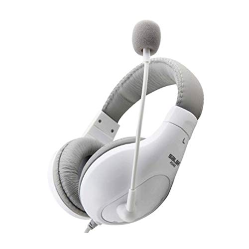 Purchase EDCM Headset,Headset, Head-Mounted Computer Gaming Headset with Microphone-White