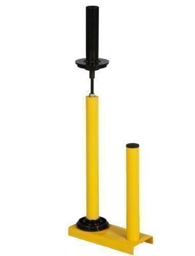 BB-Verpckungen 1 x gelber Stretchfolien Abroller (Standard) Stretchfolienabroller für Handstretchfolie