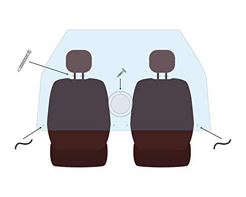 Mampara de metacrilato personalizada para el Modelo: Seat León