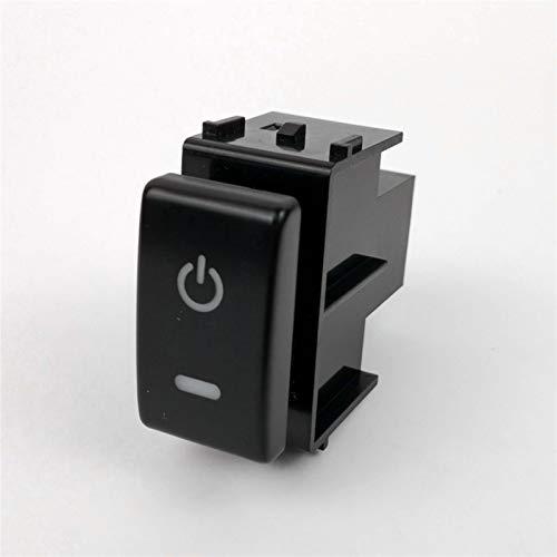 DRL Fuente de alimentación Dirección Sheel Sheel SheelView Espejo Música Música Interruptor Interruptor de botón para Nissan Qhashqai 2008-2015 (Color : Power Supply)