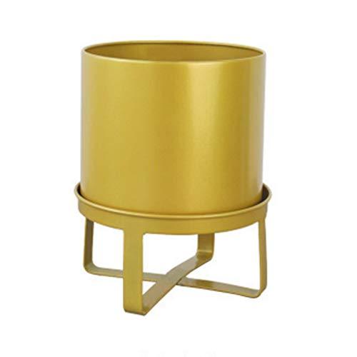 Fleur PING Support de, Support de Pot de pour Le comptoir européen en Fer forgé - Décoration pour la Maison créative (Plusieurs Couleurs) (Color : C, Size : S)