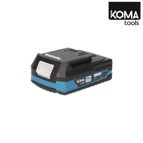 Pack KOMA Coupe Bordure 25cm 20V - Une Batterie 20V Lithium Li-ION 2Ah - Un Chargeur 60W