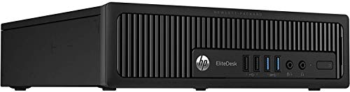 HP EliteDesk 800 G1 Ultra Small Form Factor (USFF/TFF/USDT) Desktop Computer - Intel Quad Core i5 4570S 2.9GHz - 8GB RAM - 240GB SSD- Windows 10 Pro (Renewed)
