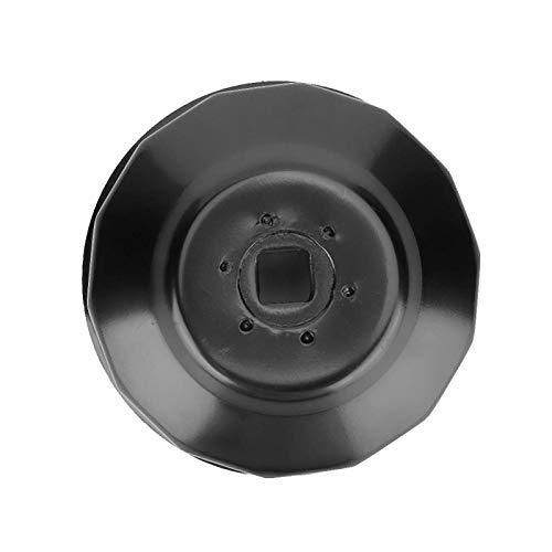 Llave de tubo para filtro de aceite, herramienta profesional para llave de filtro de aceite de alta dureza, acero portátil para la industria automotriz compatible con 2 3 motores