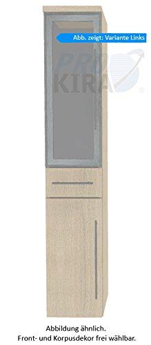 PURIS Swing Armadio Alto (hna053b7ml/R) Mobile da Bagno, 30cm