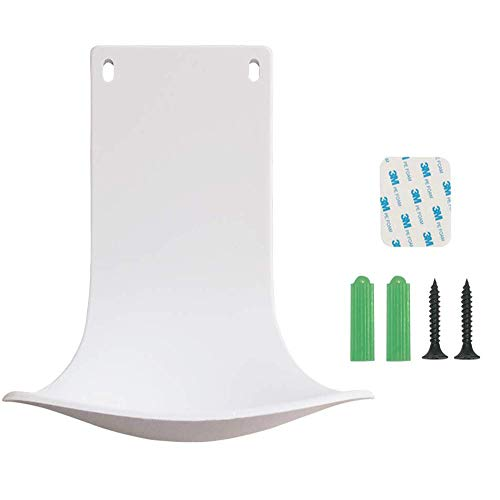 Cotn - Drip Tray for Automatic Soap Dispenser - Adhesive Stickers or Punching 2 in 1 Wall Mount, Dispenser Stand,Soap Dispenser Bracket, Prevent Dripping and Spraying, Easy to Clean (White)