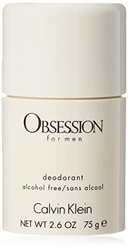 Calvin Klein - Desodorante sin alcohol Obsession for men