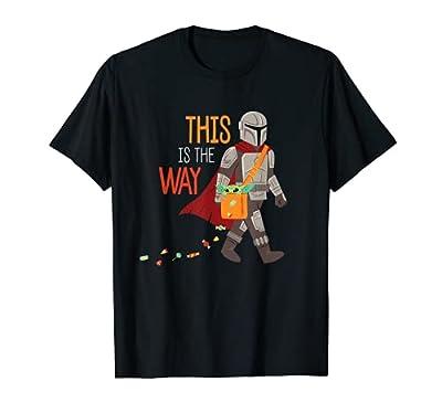 Star Wars The Mandalorian Grogu This is The Way Halloween T-Shirt