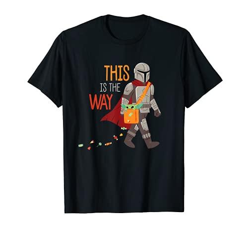 Star Wars The Mandalorian Grogu This is The Way Halloween Camiseta