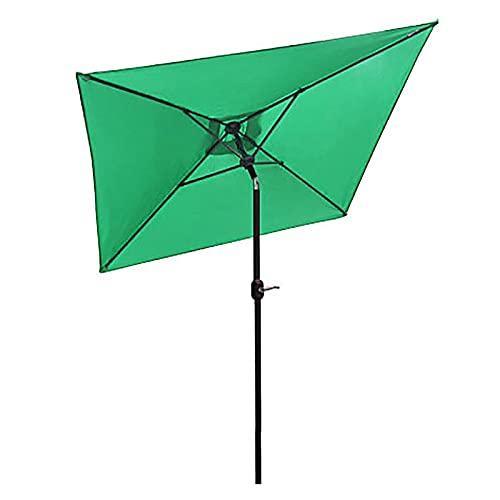 Paraguas de Jardín Sombrillas de Jardín al Aire Libre 2m×2m, Sombrilla de Mesa de Mercado de Tienda de Café, Sombrilla Parasol para Césped/Piscina/Balcón, Poste de Acero 38mm ( Size : 2×2m/6.5×6.5ft )