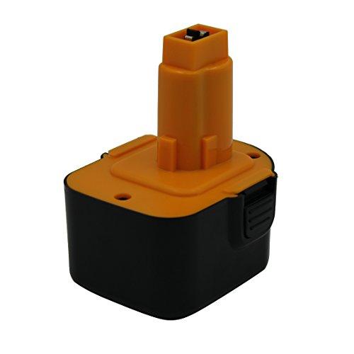 Kinon Batería de repuesto para herramienta eléctrica 12V 3.0Ah Ni-Mh para Dewalt Taladro destornillador inalámbrico DC9071 DE9037 DE9071 DE9072 DE9074 DE9075 DE9501 DW9071 DW9072 DC743KA DW940K