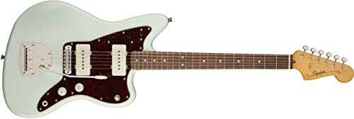 Squier by Fender Classic Vibe 60er Jazzmaster E-Gitarre Sonic Blue Normale Größe Jazzmaster