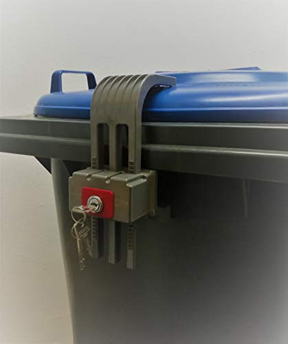 Mülltonnenverschluss KLM, verschiedenschließend