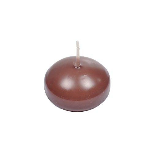homea 6bgd009ch 10Stück Schwimmkerzen Paraffin Schokolade 8x 8x 13,5cm