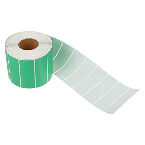 STOBOK Etiquetas Térmicas Directas de Mailer Etiquetas de Código de Color Pegatinas de Codificación de Color Cuadrado Rollo de Etiquetas Adhesivas Rectangulares Autoadhesivas Pegatinas
