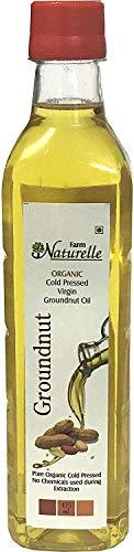 Kachi Ghani Groundnut Oil (Virgin Cold Pressed) - 415 ML (14.03 OZ) - Certified