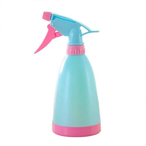 Makaor Bouteille de pulvérisation d'eau Vide en Plastique pour arroser Les Fleurs pour Plantes de Salon 2x21cm x 8 cm Bleu Rose