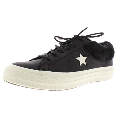 Converse ONE Star Leather OX Trainers Femmes Black - 36 EU - Low top Trainers