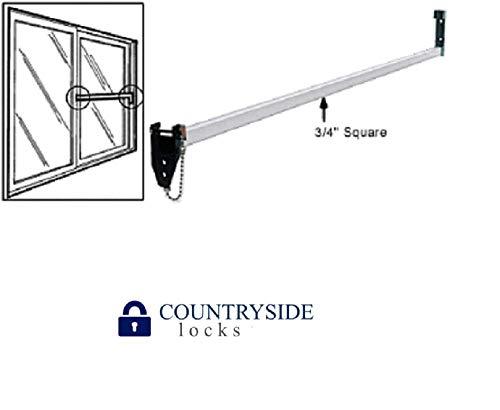 "Strybuc 16108C-48 Charley Bar for Sliding Glass Door, 48"" Bar"