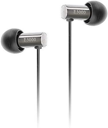 final E3000 In Ear Isolating Earphones - Stainless Steel