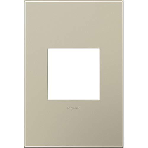 Legrand (AWP1G2TM6) adorne Titanium, 1-Gang Wall Plate by Legrand