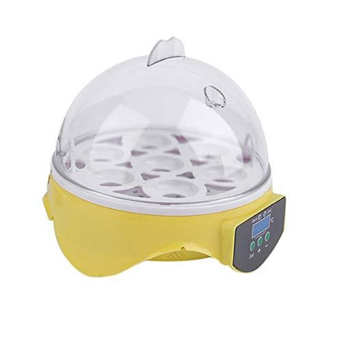 Ballylelly 7 Eier Digital Eggs Incubator für Geflügelenten Hühnerei-Brutapparat 110V 30W mit Temperaturkontrollsystem