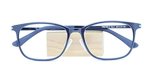 """OEMザ""""サプリメガネ2レンズ・JIS規格適合メガネくもり止めクロス付 ブルーライトカット テスター付き度なしザ""""サプリメガネ2レンズ、ブルーライト最高99%カット レンズ、伊達メガネ、紫外線99%カット、ザ""""サプリメガネ9195。パソコンPCメガネ 眼鏡 めがね、記念日 (ブラック)"""