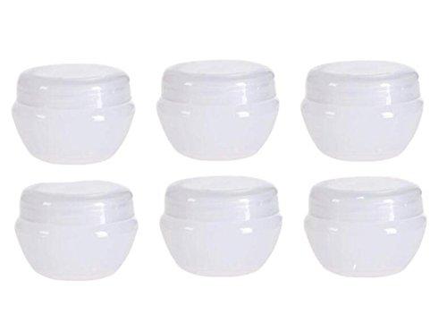 12 STKS Lege Navulbare Reizen Cosmetische Voorbeeld Containers Potten met Binnenvoering voor Scrubs Oliën Zouten Crèmes Lotions, Make-up Cosmetica Nagel Accessoires Schoonheid AIDS
