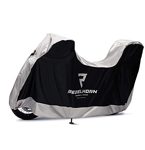 Rebelhorn RH-Cover-II-Top-Box_13_L Motorcycle, Negro