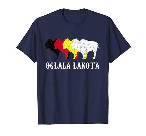 Oglala Lakota Sioux South Dakota - Oglala Sioux Lakota Chief T-Shirt
