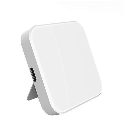 LIZONGFQ Soporte de teléfono de Carga rápida del Cargador de Carga rápida de 15W para iPhone 12 Pad de Carga inalámbrica para iPhone 12 / Pro/Pro MAX,2