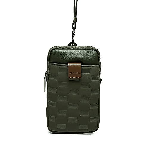 Abbacino bolso para móvil de mujer acolchado en verde