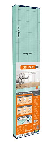 SELITAC 3 mm - Verlegeunterlage für Parkett und Laminat (10,63 m²)
