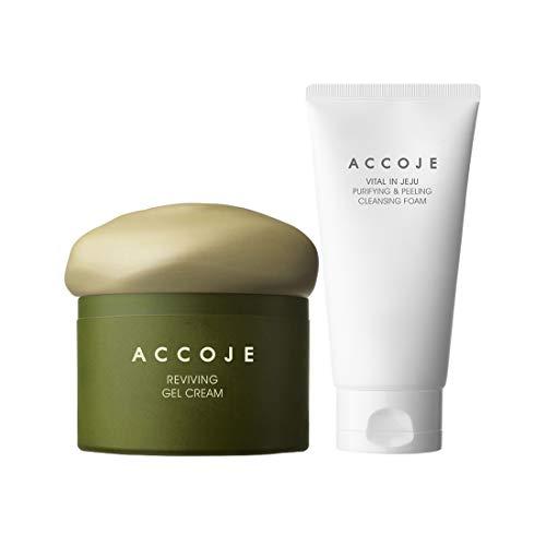 ACCOJE Best korean skin Care Vital in Jeju Purifying Peeling Cleansing Foam...