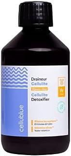 Cellublue - Draineur Cellulite 3-en-1 | Cure de 12 jours - Complément alimentaire pour Drainer et Booster l'Élimination de...