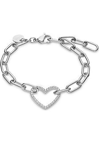 Guido Maria Kretschmer by CHRIST GMK Damen-Armband Edelstahl 32 Zirkonia One Size Silber 32012876