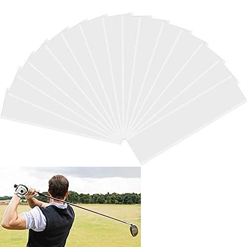 STCRERAG 15 Stücke Golf Grip Tape Doppelseitig Golfgriffband 22*5cm Golfschläger Griffband Cropable Strip Grifftape Klebeband Golf für Installation des Golfschlägergriffe Golfgriffe Golfgriffstreifen