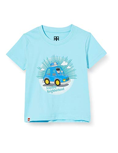 LEGO Cm Duplo T-Shirt, Bleu (Light Blue 510), 95 (Taille Fabricant: 80) Bébé garçon